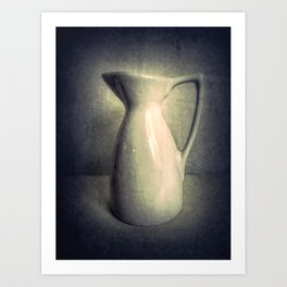 Still Life Photography Pitcher Modern Country Cottage Art A436 Art Print