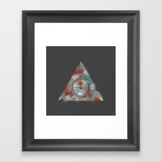 Dark Procrastination Framed Art Print