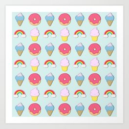 Happy Candyland Art Print