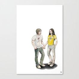 Yoon and Ash Canvas Print
