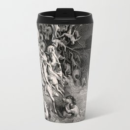 World Destroyed by Water Gustave Dore, 1866 Travel Mug