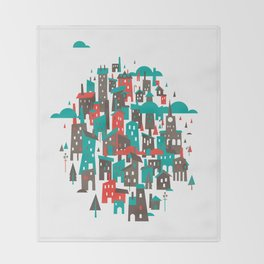 The Town Throw Blanket