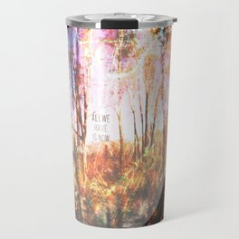 This is only Temporary by Debbie Porter Travel Mug