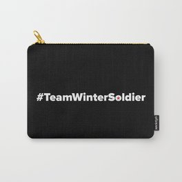 #TeamWinterSoldier Hashtag Team Winter Soldier Carry-All Pouch