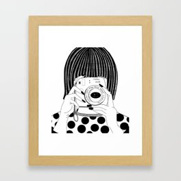 Instax Framed Art Print