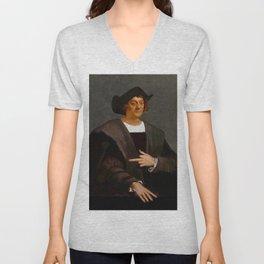Christopher Columbus Unisex V-Neck