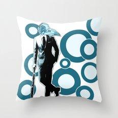 Gentlemen, We got a dead one here.. blue version Throw Pillow