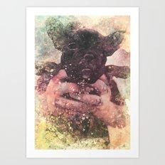 CuteDog1 Art Print