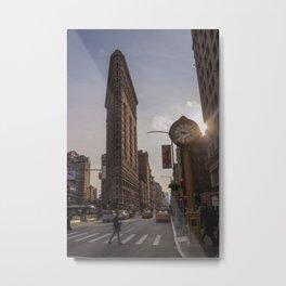 The Flatiron Metal Print