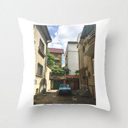 BUCHAREST #3 Throw Pillow