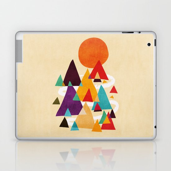 Let's visit the mountains Laptop & iPad Skin