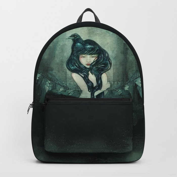Oracle of the sodden raven Backpack