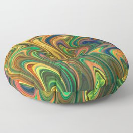 Crazy on You Floor Pillow