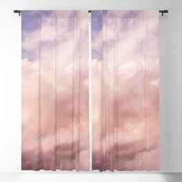 Perfect Pink Summer Sky Nature Photography Blackout Curtain