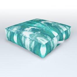 Aqua Blue Lagoon Outdoor Floor Cushion
