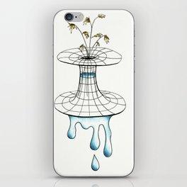 worm vase iPhone Skin