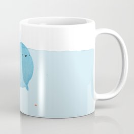 The Enigmatic Pudding Whale Coffee Mug