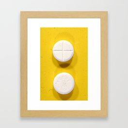 Yellow Rohypnol Framed Art Print