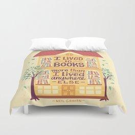 Lived in books Duvet Cover