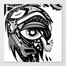 WINGED EYE 2 Canvas Print
