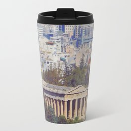 Ancient Cityscape Travel Mug
