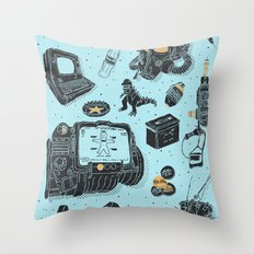 Artifacts: Fallout Throw Pillow