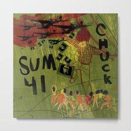 Sum 41 - Chuck Metal Print