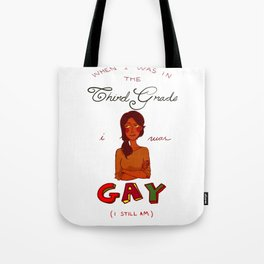 I'm Gay version 4 Tote Bag