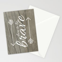 Dare to be Brave Stationery Cards