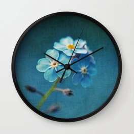 I'm Blue For You Wall Clock