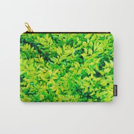 hojas verdes Carry-All Pouch