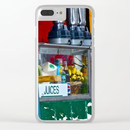 Fruit Stand Clear iPhone Case