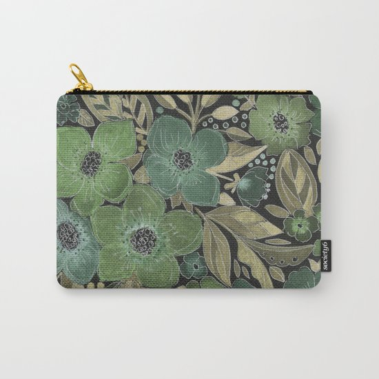 Watercolor . Night . Carry-All Pouch