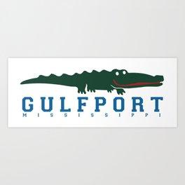 Gulfport Mississippi. Art Print