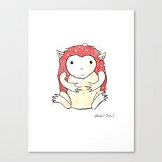 Amanita Imp Canvas Print