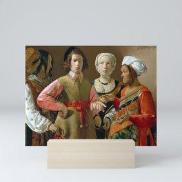 Georges de La Tour The Fortune-Teller Mini Art Print