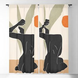 Nude Blackout Curtain