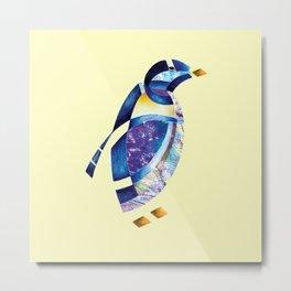 Penguin 2 (Arabic calligraphy) Metal Print