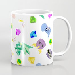 spyro the dragon pattern Coffee Mug