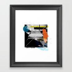 Random Collage #1 Framed Art Print