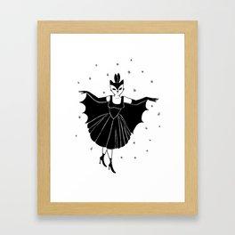 Bat girl is not bad Framed Art Print