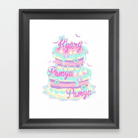 Kyary Pamyu Pamyu 5 T-shirt Framed Art Print