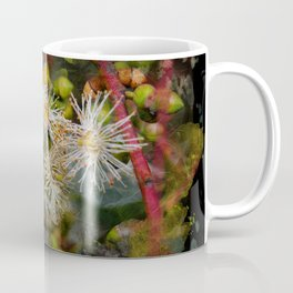 Beautiful white gum blossom abstract Coffee Mug