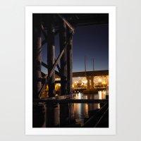 Under The Bridge // 4 Art Print