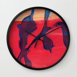 Matisse meets Rothko Wall Clock