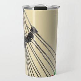 Rock Climbing Wires Travel Mug