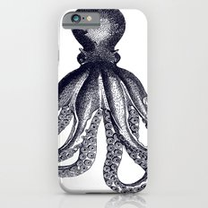 Octopus   Black and White iPhone 6s Slim Case