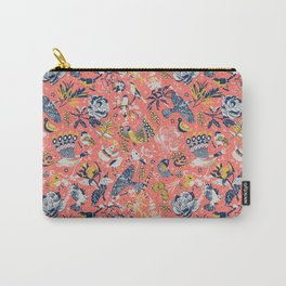 Birds in the snow Carry-All Pouch