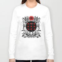 occult Long Sleeve T-shirts featuring Occult theme by Renars