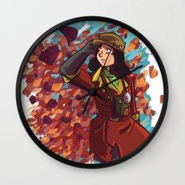 piper wright Wall Clock